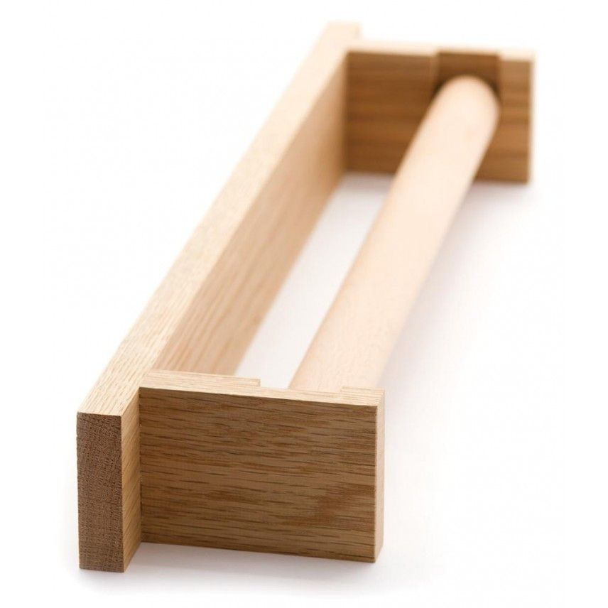 Pedlars Wooden Roller Towel Holder
