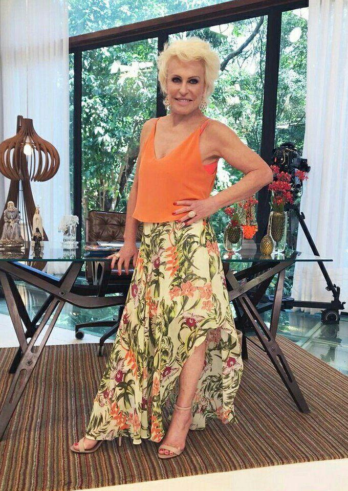 Moda Para Mulheres Com 50 Anos Ou Mais Ana Maria Braga Moda