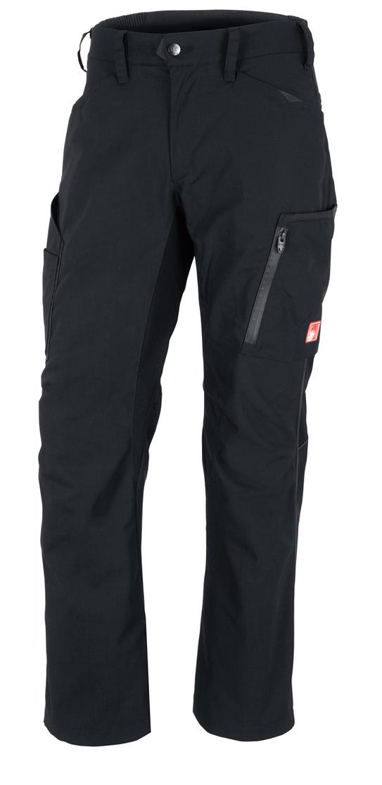 Trousers E S Vision Men S Black Engelbert Strauss In 2020 Trousers Workwear Trousers Engelbert Strauss