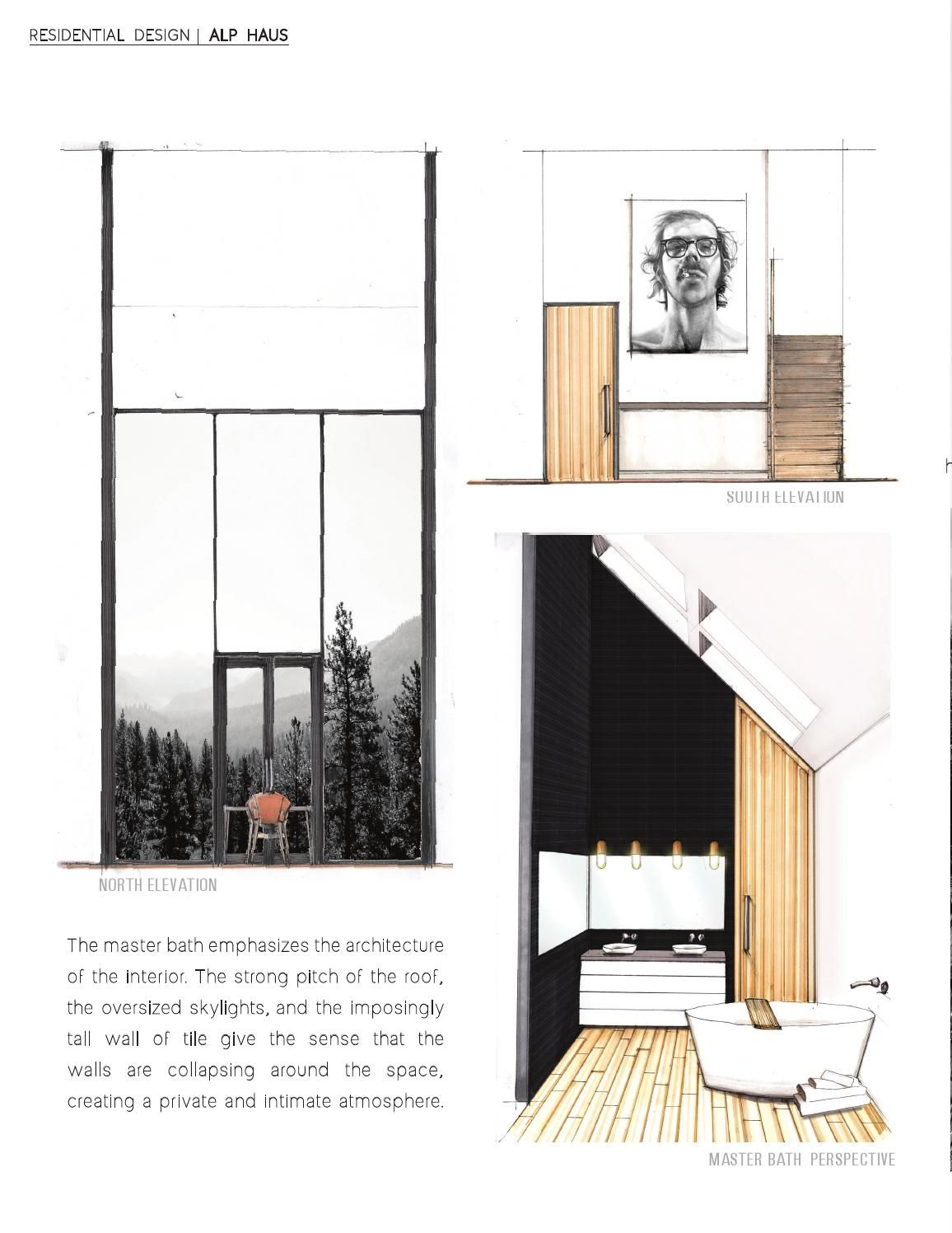 ISSUU   Interior Design Portfolio by Laura Taylor   Herberge