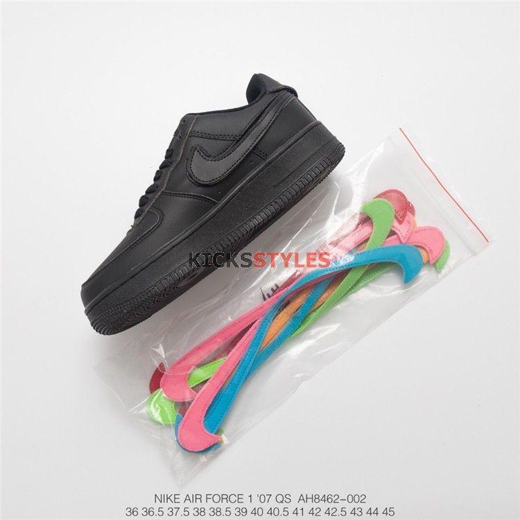 95515158fd8 Nike Air Force 1 Low Swoosh Pack All-Star 2018 (Black) AH8462-002 ...