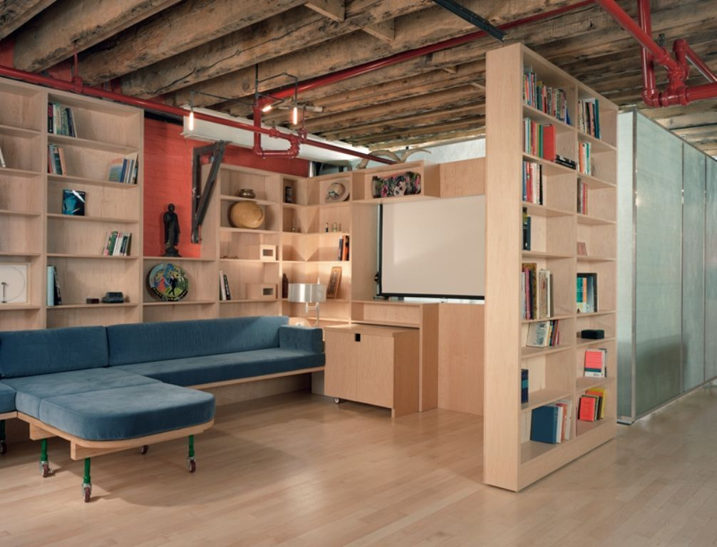 Diy Basement Design Ideas Urban Loft Style 2 Pictures Gallery