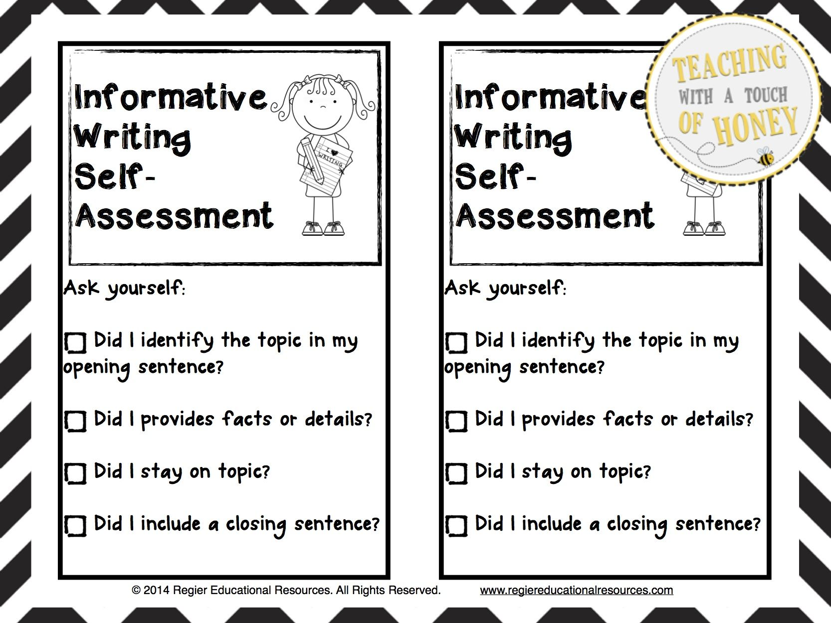 self assessment on my writing A practical guide to writing a great self-assessment.