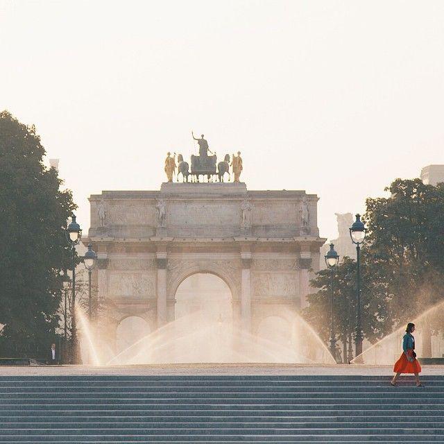 Morning in Tuileries