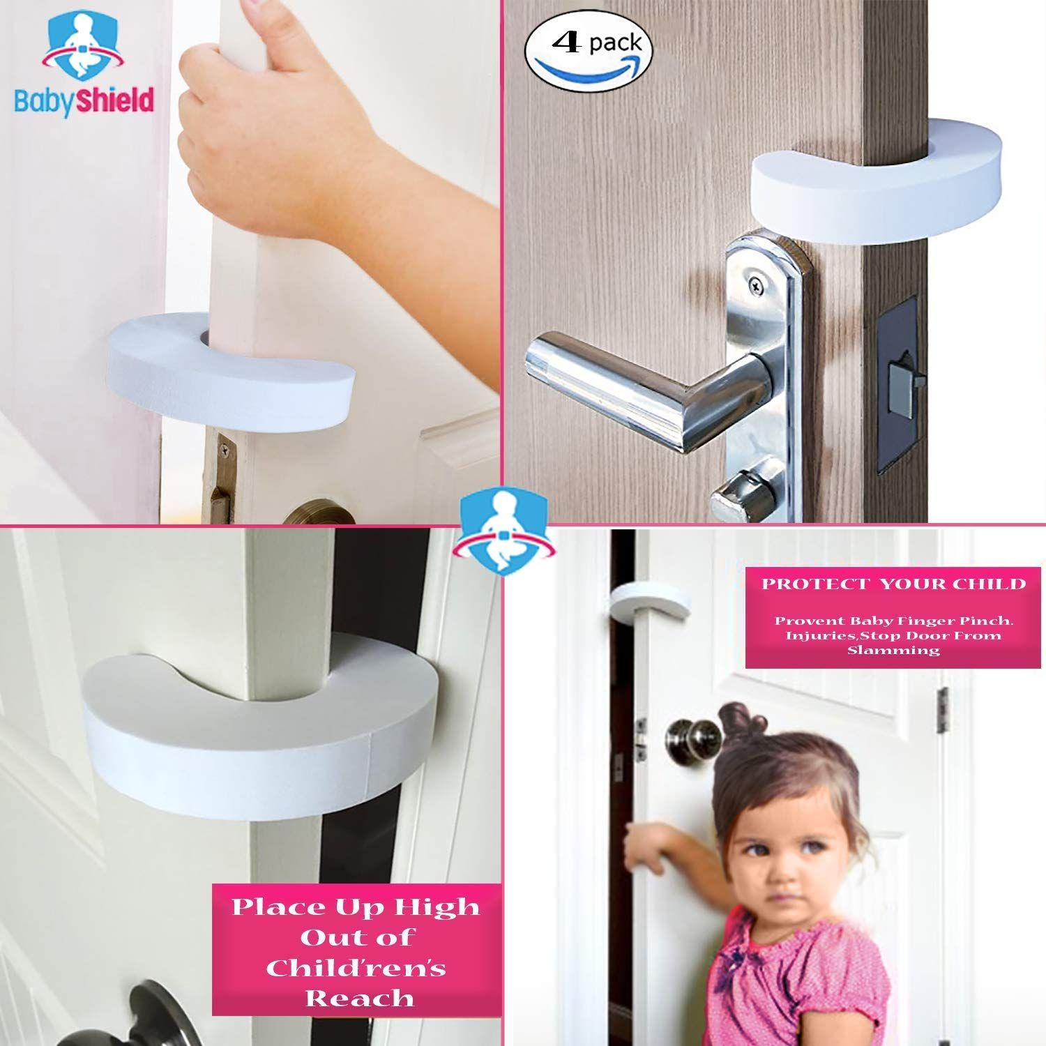 The Ultimate Baby Safety Kit 38 Pieces 4 Cabinet Locks 4 Cabinet Latches 12 Clear Corner Prtotectors 4 Finger Pinch Guards 12 Baby Safety Safety Kit Pack Baby