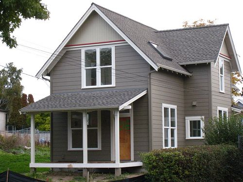 Exterior Benjamin Moore Cromwell Gray Home Decor Pinterest Grey Trim Exterior And