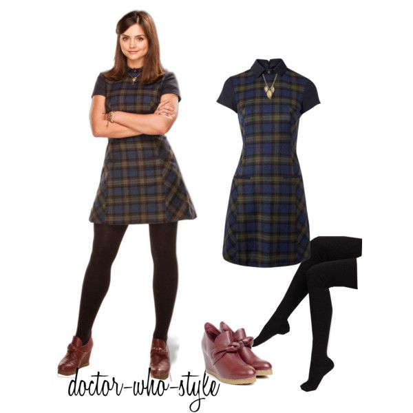 clara oswald  by doctor-who-style on Polyvore  sc 1 st  Pinterest & clara oswald