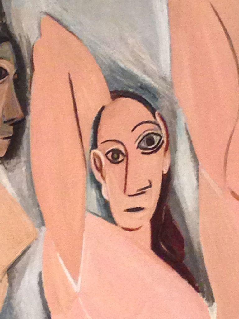 Pablo Picasso Les Demoiselles D Avignon 1907 Detail Pablo Picasso Picasso Art Picasso