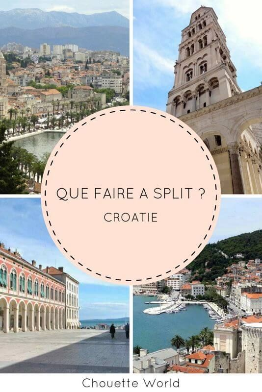 que faire a split mes incontournables lieux visiter croatie croatie voyage et split croatie. Black Bedroom Furniture Sets. Home Design Ideas