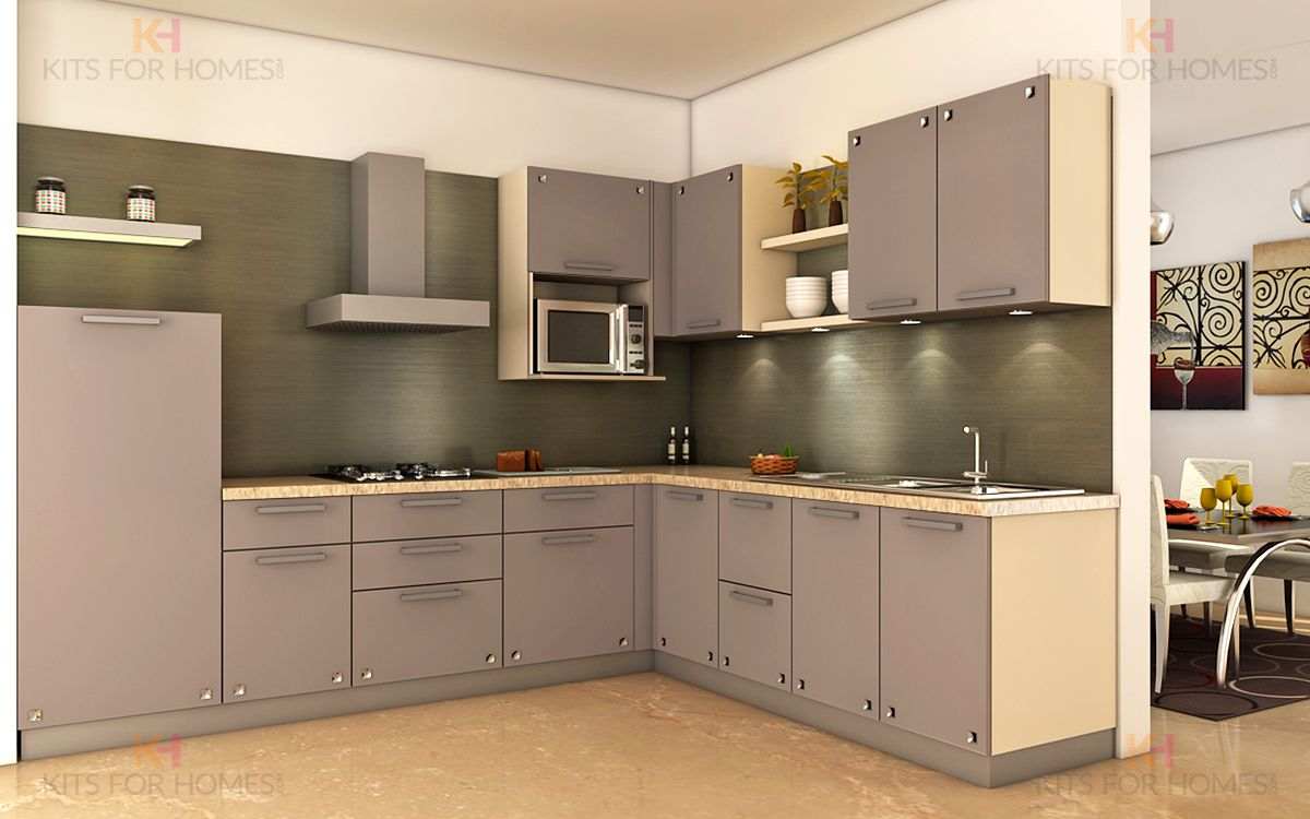 L Shape Kitchen Kitchen Cabinets Modern Kitchen Interior Design