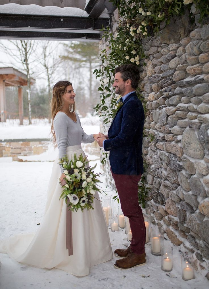 Photo of How to Have A Sweet And Fun Winter Wedding