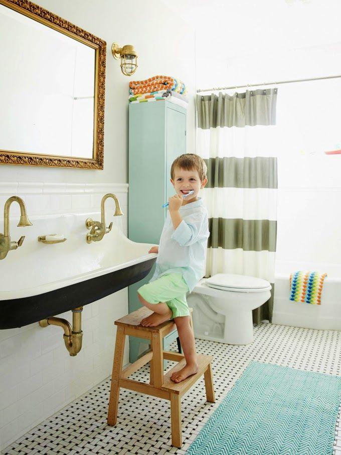Rafterhouse Junge Badezimmer Kind Badezimmer Badezimmer Farbideen