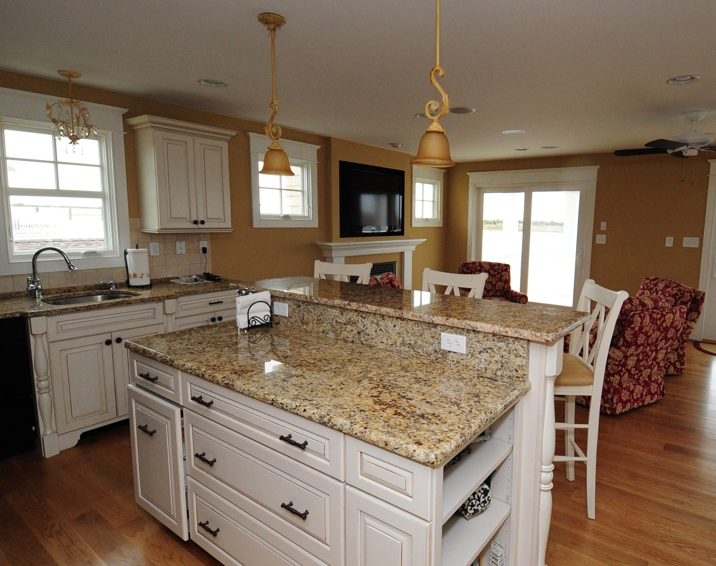 Tropic Brown Granite Countertops With White Cabinets Home Design Ideas Brown Granite Countertops Kitchen Cabinet Design White Cabinets With Granite
