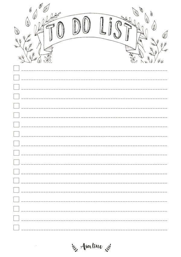 4 To Do List da stampare per organizzare meglio il tuo lavoro