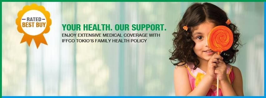 IFFCO Tokio provides the Best Health Insurance Policy For Family which can protect you from all threats. The online quotes are also available so you can get that from the official website.  http://www.iffcotokio.co.in/health-insurance/swasthya-kavach-policy