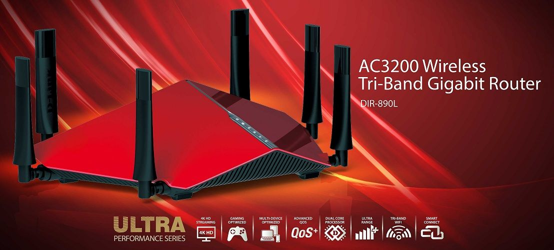 What Makes The DLink AC3200 TriBand WiFi Router The