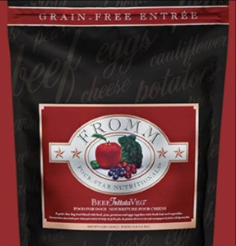 Buy any 12 lb bag or more of Fromm Dogfood and get a