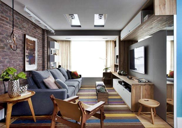 Sala De Apartamento Decoração