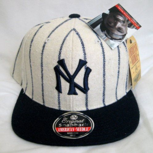 16dc5db9ff1 MLB American Needle 1921 New York Yankees Pinstriped Snapback Hat by  American Needle.  29.99. 1921 New York Yankees. Cooperstown Collection.  Lofted front ...