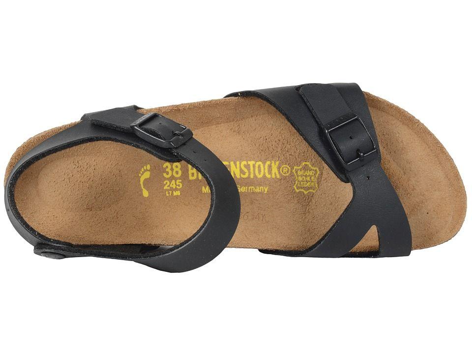 c29c1d85292d Birkenstock Rio Sandals Black Birko-Flortm