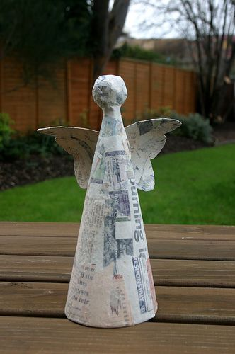 The Art Of Up-Cycling Diy Christmas Decoration Ideas - Fill Your - outdoor angel christmas decorations