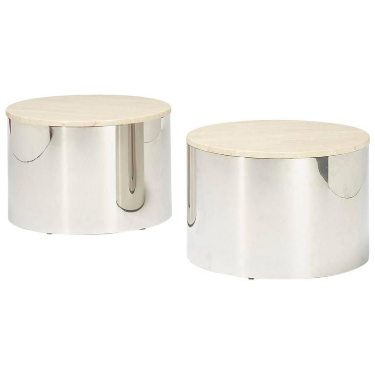 Occasional Tables, Pair By Curtis Jeré For Artisan House | 1stdibs.com