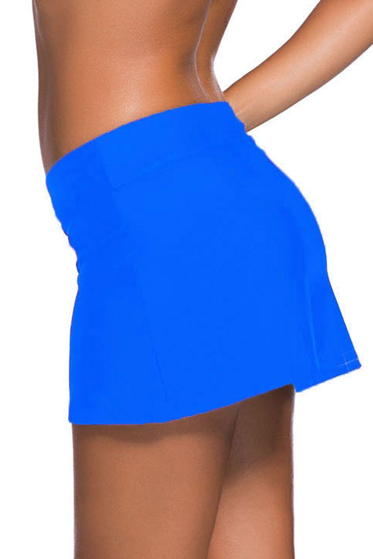 Women Swim Skirt Bikini Bottoms Tankini Shorts Beach Swimming Swimwear Plus Size