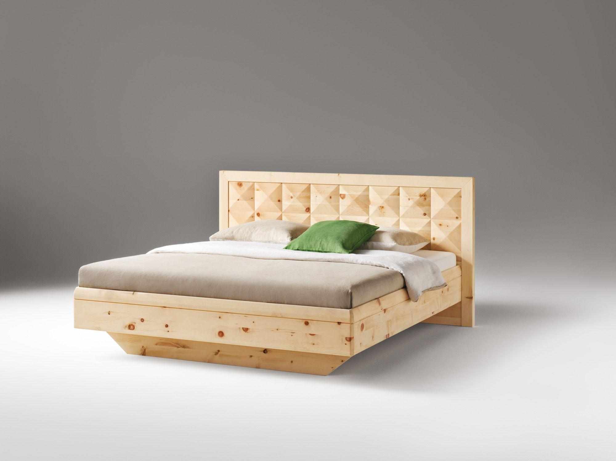 Doppelbett Massivholz Zirbe Bei Mobel Morschett Bett