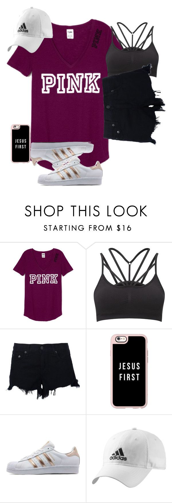 """""""basic"""" by racheld24 ❤ liked on Polyvore featuring Sweaty Betty, rag & bone, Casetify, adidas Originals and adidas"""