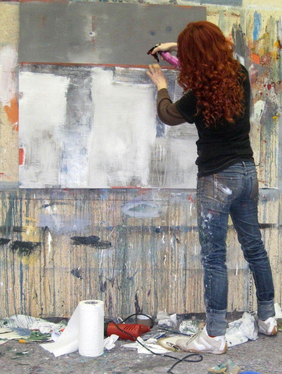 hafen1, abstrakte kunst, Conny Niehoff, expressive kunst, auftragsmalerei, moderne malerei, abstrakte malerei kaufen, bilder