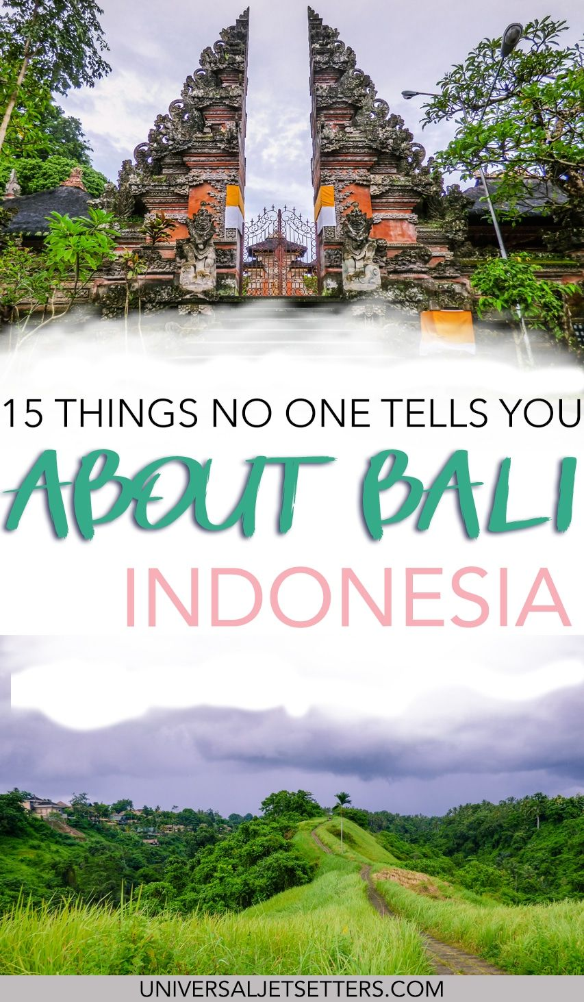 Read about all the things no one tells you about Bali, Indonesia from the best things to do, why watch sunrises and sunsets, where the best photography opportunities are, why you should prioritize Ubud, among other things.