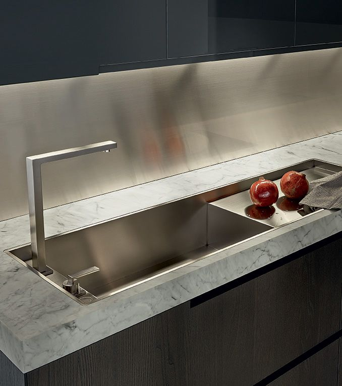 Kitchen Sinks Phoenix Poliformusavarennakitchensgallery92854027ml phoenix crs varenna an exclusive model where all the kitchen units are inspired by pure and essential lines to achieve a rigorous design project workwithnaturefo