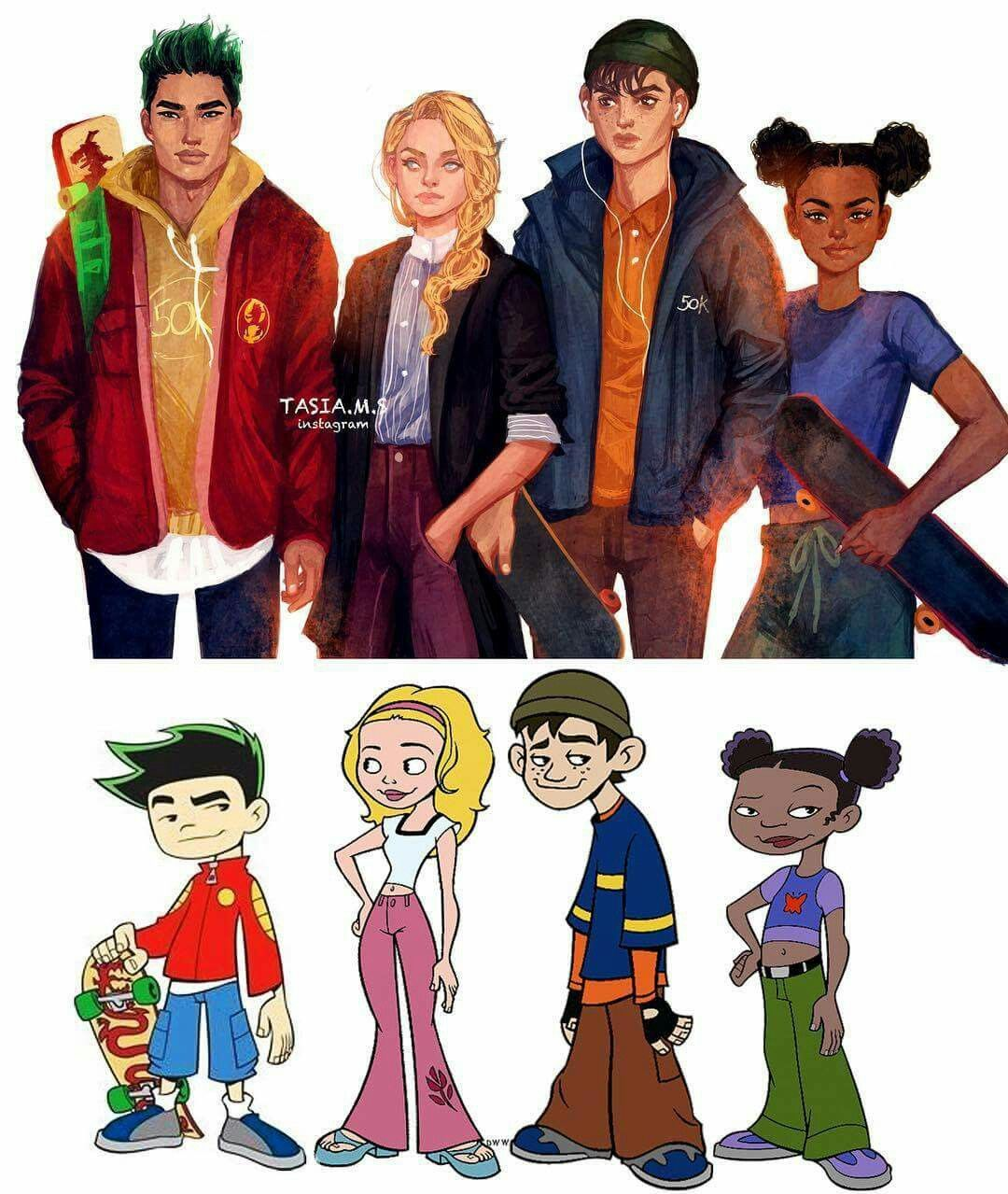 American dragon jake long all disney stuff pinterest