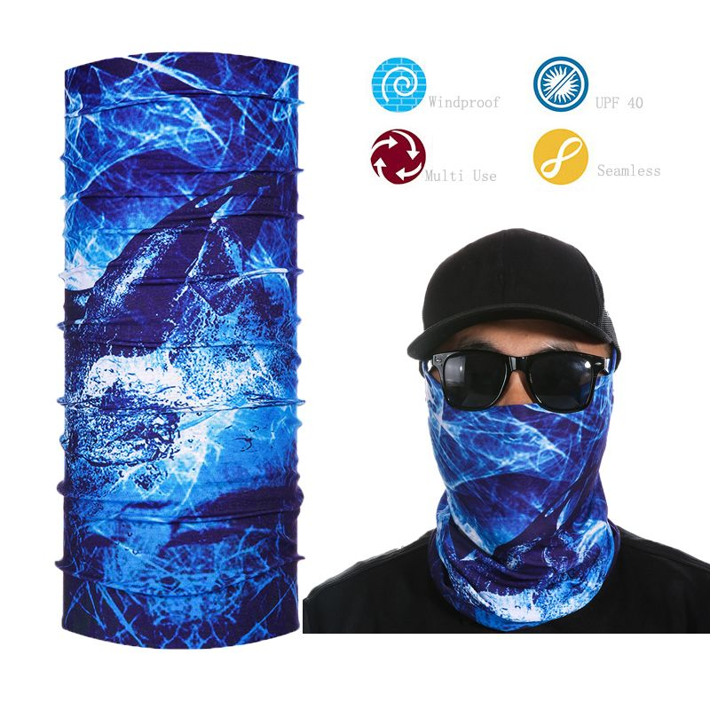 Magic Headwear Bulls Art Outdoor Scarf Headbands Bandana Mask Neck Gaiter Head Wrap Mask Sweatband