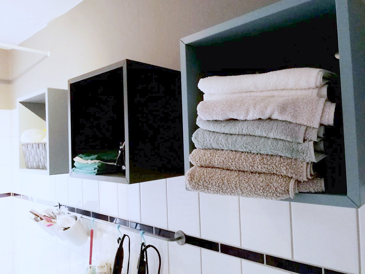 Badezimmer Handtücher ~ Die besten handtücher organisieren ideen auf