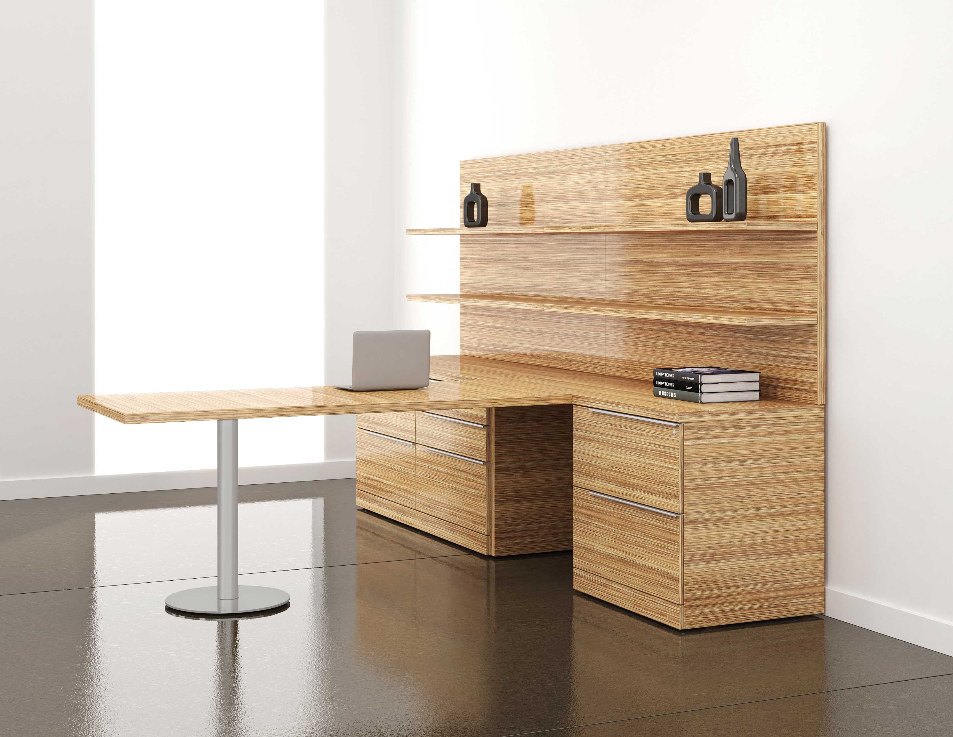 office furniture contemporary product wood home solid contemprary desk