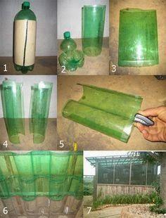 Serra Fai Da Te Con Riciclo Bottiglie Di Plastica Diy