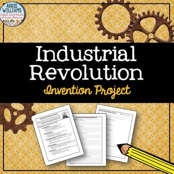 Industrial Revolution Invention Poster Project Industrial