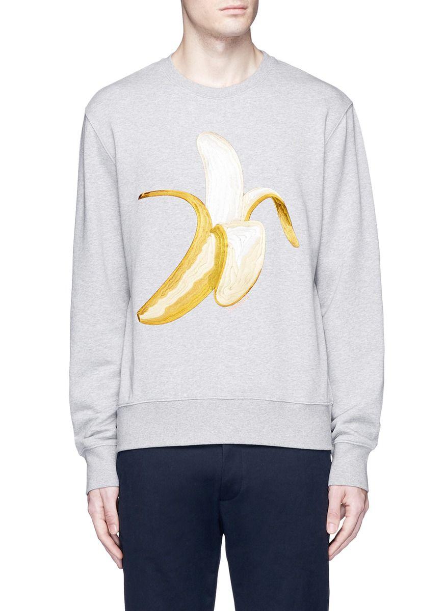 acne sweatshirt banana