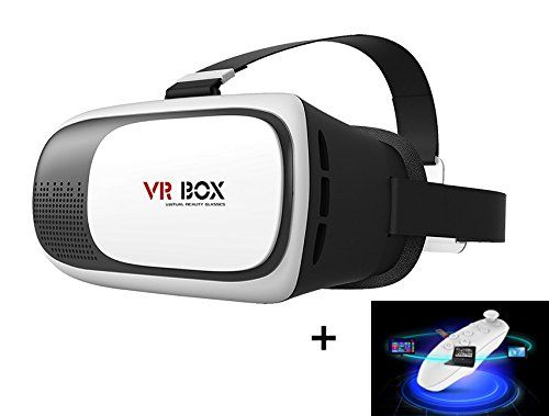 Mactrem Gafas 3d Vr Para Realidad Virtual Con Control Remoto