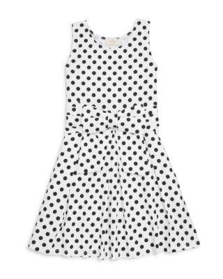 22a929dd9d62a kate spade new york Girls' Bow Dot Knit Dress - Big Kid | Bloomingdale's