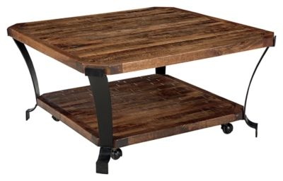 Taddenfeld Coffee Table By Ashley Homestore Brown Furniture
