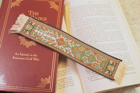 Oriental Rug Bookmark Book Nerd Unique Lover