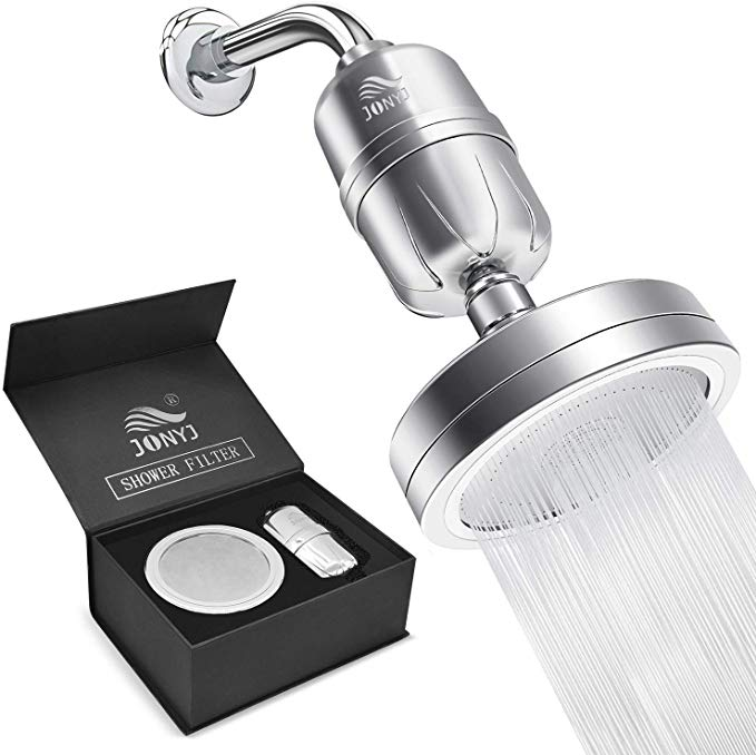 Jonyj Shower Filter With Vitamin C D 15 Stage Showerhead Filter
