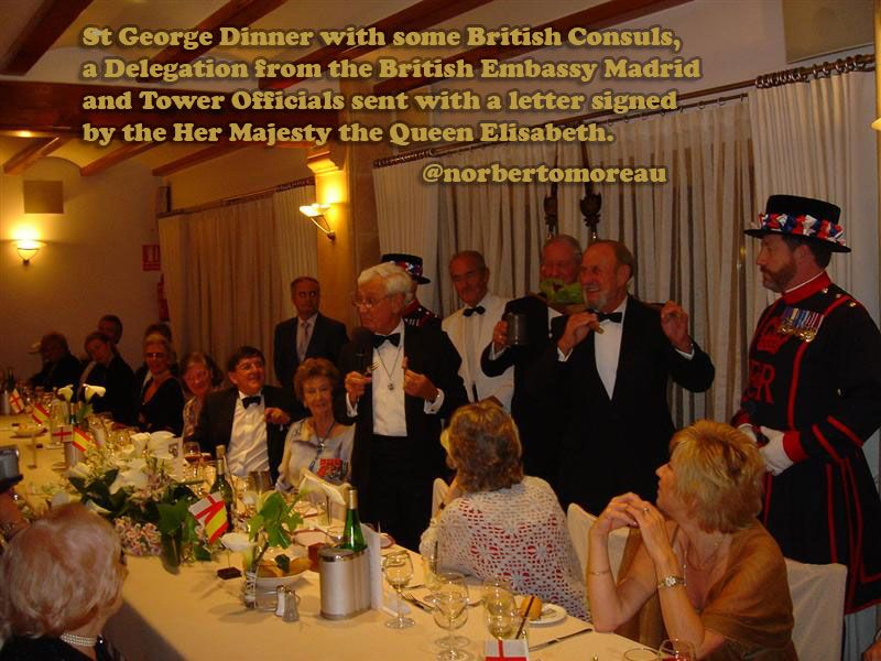Tbt  St George Dinner With Some British Consuls A Delegation