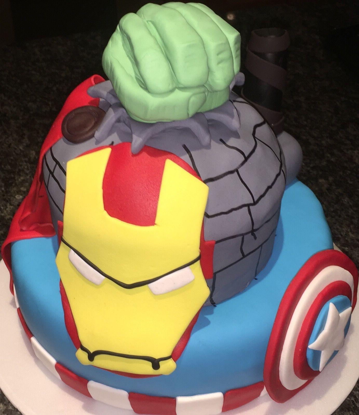 Iron Man Captain America Thor Y Hulk Todos Reunidos Para La