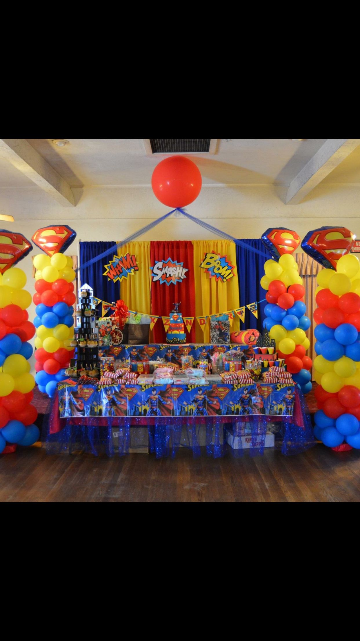 Super Hero Theme Party Superhero Theme Party, Party Themes, Boy Birthday, Baby  Showers