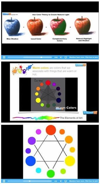Swell Free Color Theory Videos And Online Interactive Color Wheel Interior Design Ideas Tzicisoteloinfo