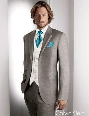 De Calvin Klein...  novio  traje  boda  f88cee221de