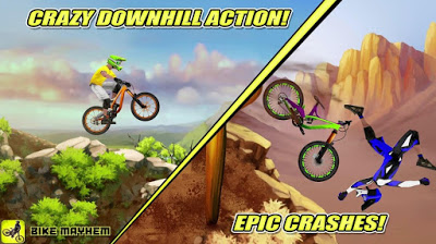Bike Mayhem Mountain Racing Mod Apk Download Android Bike